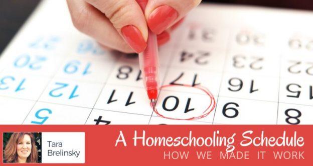 A Home Schooling Schedule